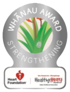 Healthy Hearts silver award