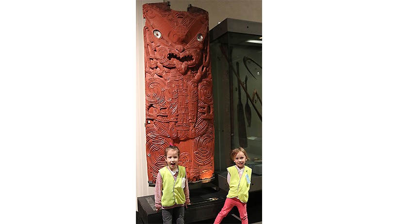 Pascals St John daycare children trip to Auckland museum